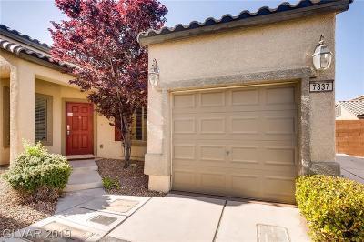 Las Vegas Single Family Home For Sale: 7837 Drydust Court