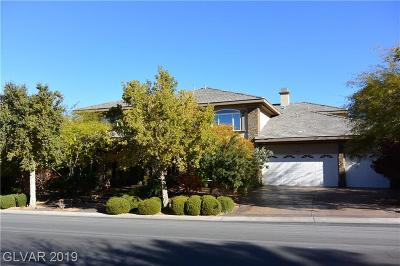 Henderson NV Single Family Home For Sale: $1,250,000