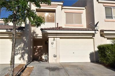 NORTH LAS VEGAS Condo/Townhouse Under Contract - No Show: 3317 Cheyenne Gardens Way