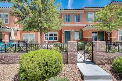 Las Vegas, Henderson Condo/Townhouse Under Contract - No Show: 2128 Waterlily View Street