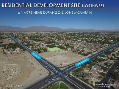 Centennial Hills Residential Lots & Land For Sale: Durango Dr