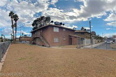 Henderson, Las Vegas Multi Family Home For Sale: 536 North Circle