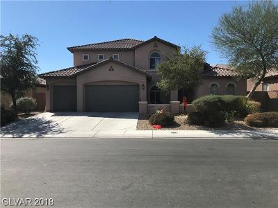 North Las Vegas Single Family Home For Sale: 7375 Preen Street