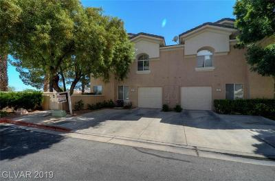 Las Vegas, Henderson Condo/Townhouse Under Contract - No Show: 500 Fragrant Orchard Street
