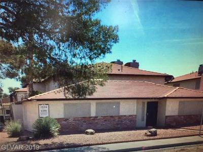 Henderson, Las Vegas Multi Family Home For Sale: 1254 Hacienda Avenue