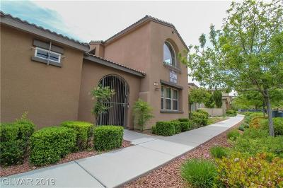Las Vegas Condo/Townhouse For Sale: 11398 Belmont Lake Drive #102