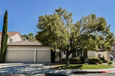 Henderson Single Family Home For Sale: 1248 Panini Drive
