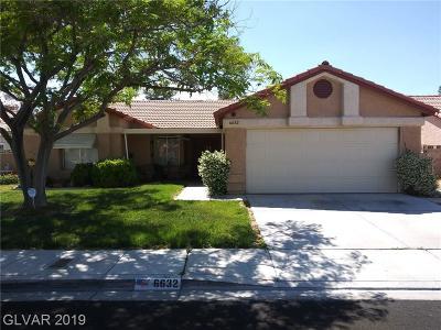 Blue Diamond, Boulder City, Henderson, Las Vegas, North Las Vegas, Pahrump Single Family Home Under Contract - No Show: 6632 Coastal Breeze Court