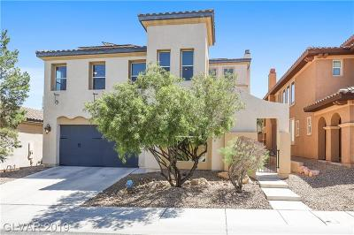 Henderson NV Single Family Home For Sale: $497,900