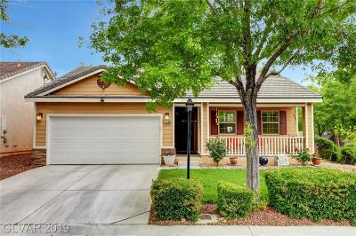 Las Vegas Single Family Home Under Contract - Show: 7700 Natures Song Street