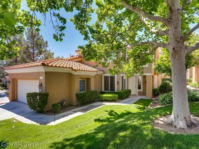 Summertrail Summerlin Village Condo/Townhouse For Sale: 2009 Summer Spruce Place #103