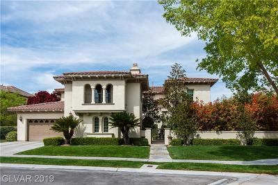 Single Family Home For Sale: 1225 Muscato Court