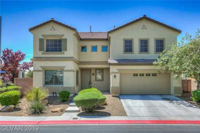 North Las Vegas Single Family Home Under Contract - No Show: 4051 Cathedral Falls Avenue