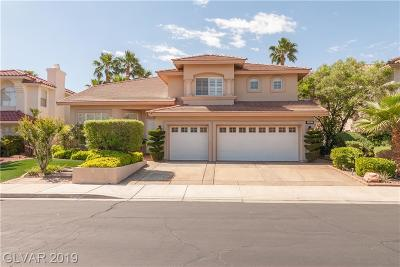 Henderson Single Family Home For Sale: 2467 Ping Drive