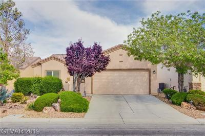 North Las Vegas Single Family Home For Sale: 7432 Chipping Sparrow Street