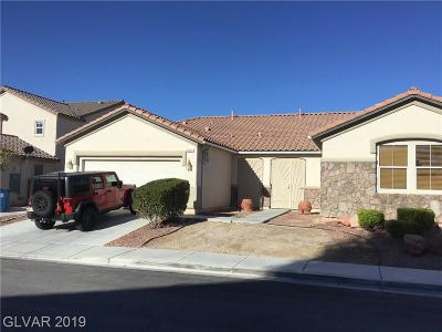 Las Vegas Single Family Home For Sale: 8517 Sable Beauty Street
