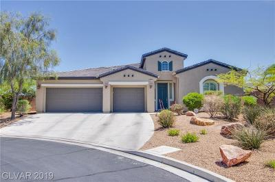 Las Vegas NV Single Family Home Under Contract - No Show: $520,000