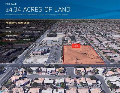 Residential Lots & Land For Sale: Fisher Ave