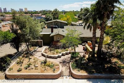 Las Vegas Single Family Home For Sale: 3309 Hastings Avenue