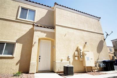 NORTH LAS VEGAS Condo/Townhouse For Sale: 6313 Desert Leaf Street #201