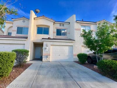 NORTH LAS VEGAS Condo/Townhouse For Sale: 3363 Sparrow Heights Avenue