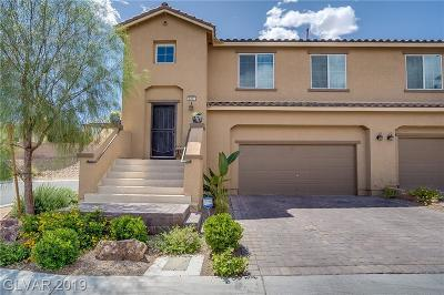 NORTH LAS VEGAS Condo/Townhouse For Sale: 6297 Pageant Street