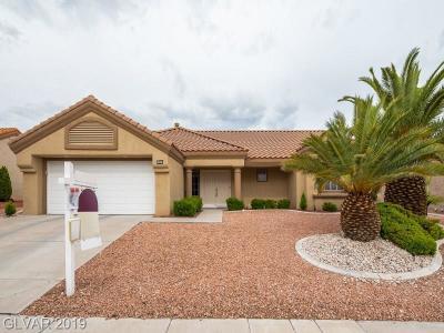 Single Family Home For Sale: 2845 Desert Crystal Drive