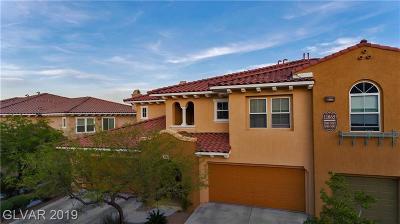 Las Vegas Condo/Townhouse For Sale: 11865 Tevare Lane #2081