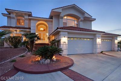 Sunrise Manor Single Family Home For Sale: 7145 Beverly Glen Avenue