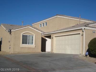 NORTH LAS VEGAS Condo/Townhouse For Sale: 4839 Marco Polo Street