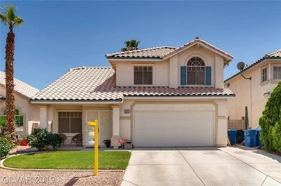 Las Vegas Single Family Home Under Contract - Show: 3334 Wardlaw Street