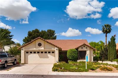 Las Vegas Single Family Home Under Contract - No Show: 7200 Trading Post Lane