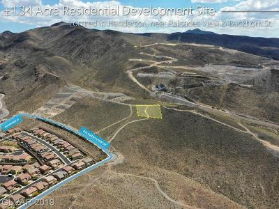 Henderson Residential Lots & Land For Sale: Palisades View Dr