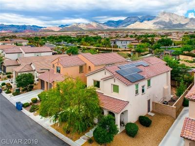 Las Vegas Single Family Home For Sale: 12048 Prada Verde Drive