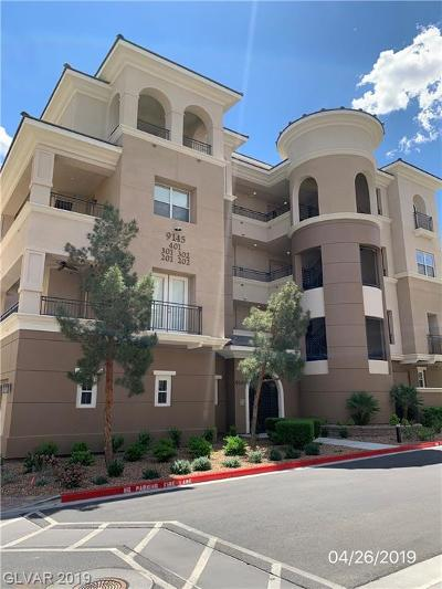 Las Vegas Condo/Townhouse Under Contract - No Show: 9145 Tesoras Drive #401