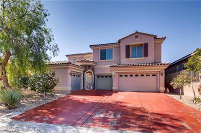 Las Vegas Single Family Home For Sale: 9949 Madison Walk Avenue