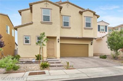 Las Vegas Single Family Home For Sale: 2599 Rainbow River Drive