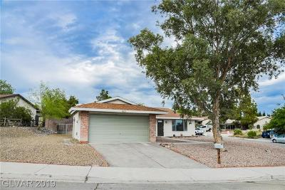 Boulder City Single Family Home Under Contract - No Show: 1403 Nadine Way