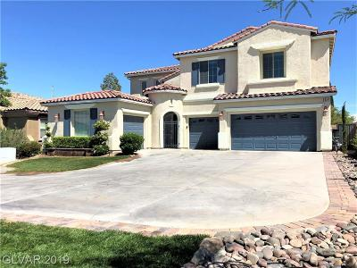 Las Vegas, Henderson Single Family Home For Sale: 6024 Aromatico Court