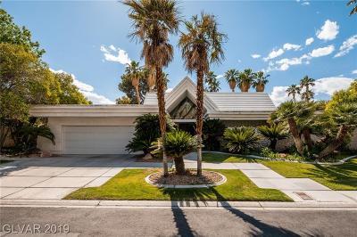Las Vegas Single Family Home For Sale: 208 Desert View Street