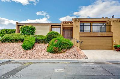 Boulder City Condo/Townhouse For Sale: 532 Greenbriar Place