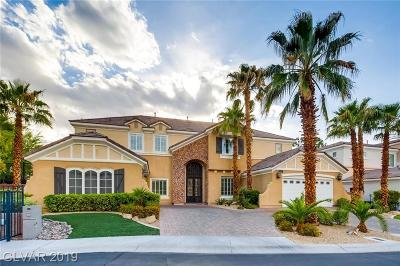 Las Vegas  Single Family Home For Sale: 1711 Songlight Court