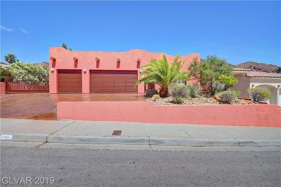 Boulder City Single Family Home For Sale: 732 Marina Drive