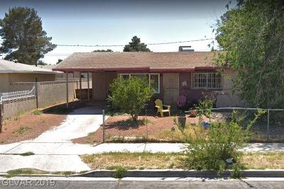 Las Vegas NV Single Family Home Under Contract - No Show: $100,000