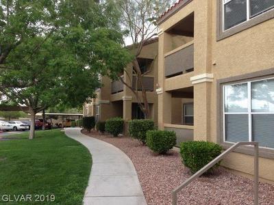 Silverado Ranch Condo/Townhouse For Sale: 2300 Silverado Ranch Boulevard #1088