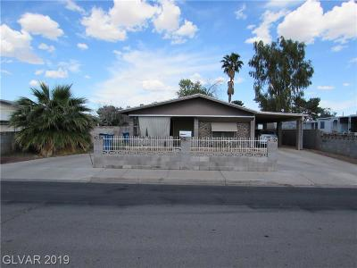 Las Vegas Manufactured Home For Sale: 3666 Becerro Drive