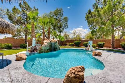 Las Vegas Single Family Home For Sale: 7241 Sibley Avenue