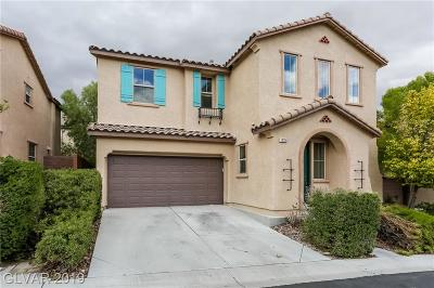Las Vegas Single Family Home For Sale: 10756 Old Ironsides Avenue