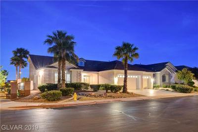 Las Vegas Single Family Home For Sale: 1004 Cypress Ridge Lane