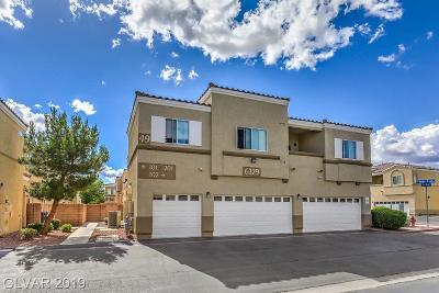 North Las Vegas Condo/Townhouse For Sale: 6329 Snap Ridge Street #101
